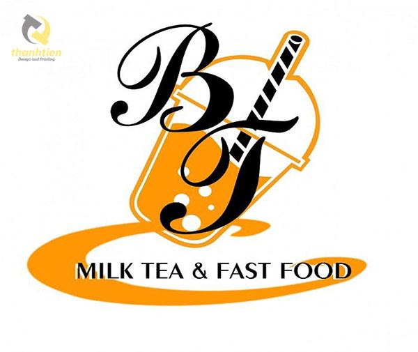 logo tra sua milk tea