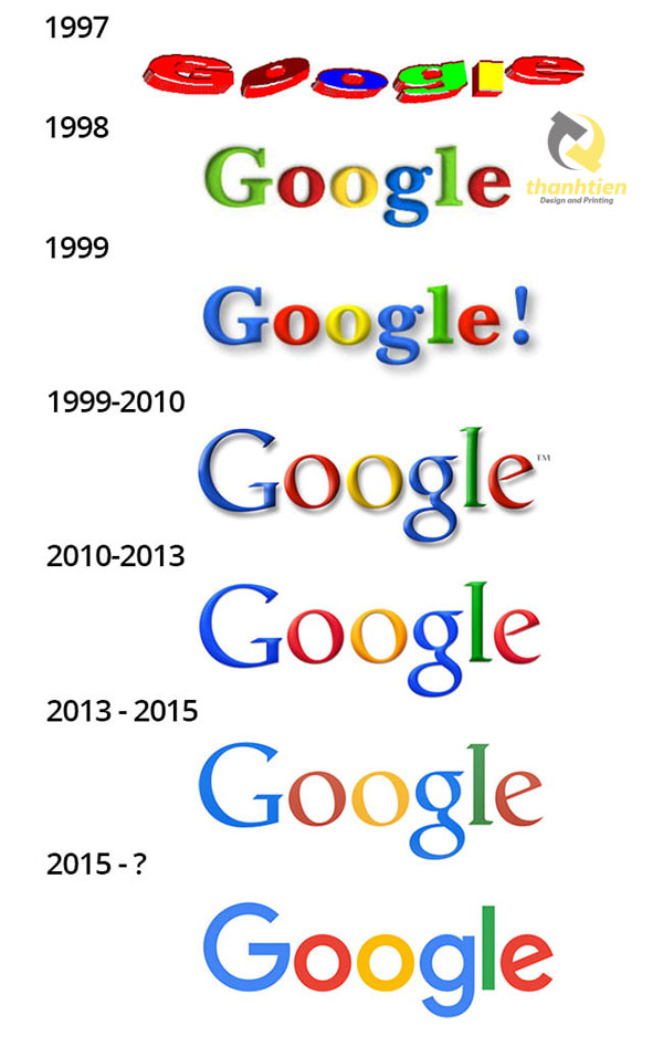 y nghia logo google da mau sac