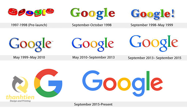 logo google 1999