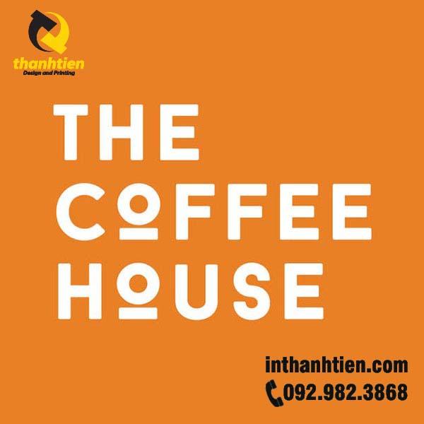 logo quan cafe the coffee house