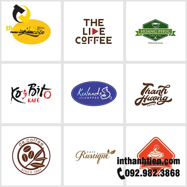 logo cafe chat luong